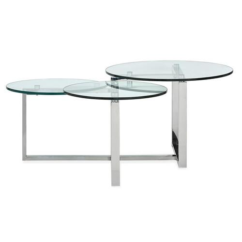 Magnussen Home - Shaped Cocktail Table