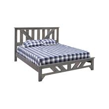 Summerset Bed - Grey Flannel - Queen Bed