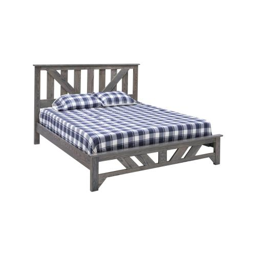 Summerset Bed - Grey Flannel - King Bed