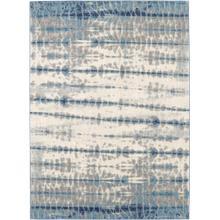 Expressions Shibori Stripe Indigo 2'x3'