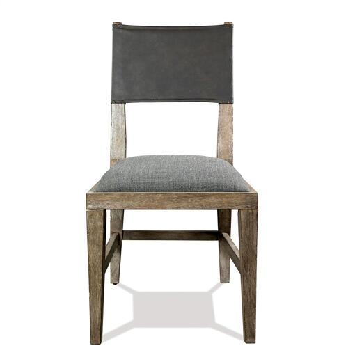 Milton Park - Upholstered Seat Side Chair - Primitive Silk Finish