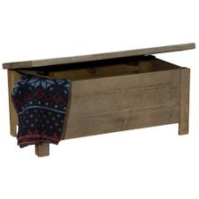 See Details - Blanket Chest - Driftwood