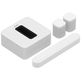 White- 5.1 Surround Set