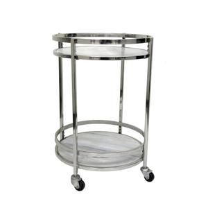 CRESTVIEW COLLECTIONSHadley Marble Bar Cart