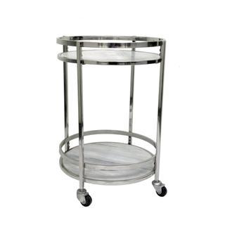 Hadley Marble Bar Cart