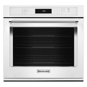"30"" Single Wall Oven with Even-Heat™ True Convection - White"