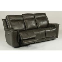 Miller Power Reclining Sofa with Power Headrests - 204-04 Leather Vinyl