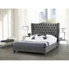 King Bed Frame Grey