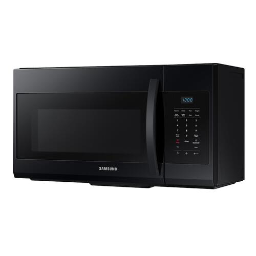 1.7 cu. ft. Over-the-Range Microwave in Black