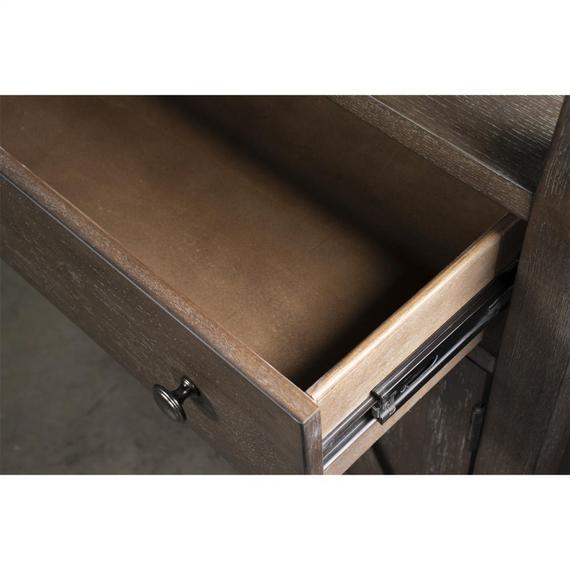Riverside - Sheffield - Bookcase - Rich Tobacco Finish