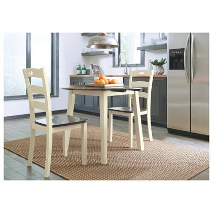 See Details - Dining Table and 2 Chairs