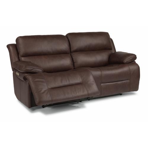 Flexsteel - Apollo Power Reclining Sofa with Power Headrests