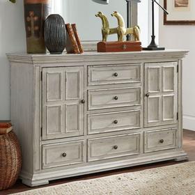 2 Door 6 Drawer Dresser