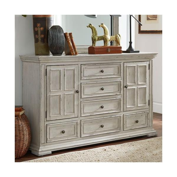 See Details - 2 Door 6 Drawer Dresser
