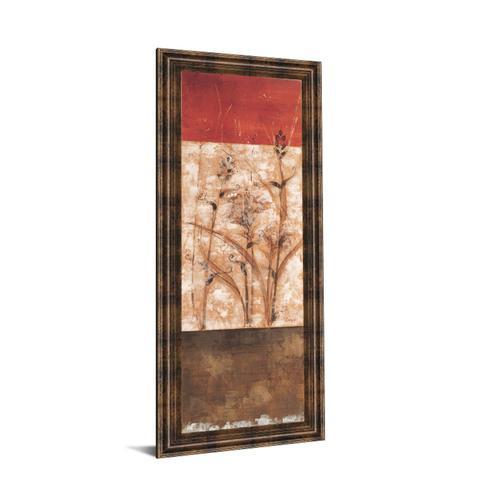 """""""Fresco Il"""" By Loretta Linza Framed Print Wall Art"""