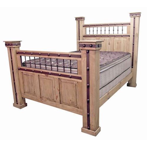 Queen Hierro Iron Bed