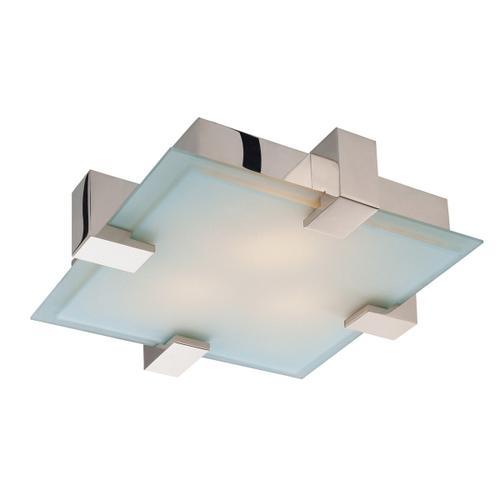 Sonneman - A Way of Light - Dakota Surface Mount [Color/Finish=Polished Chrome, Shape=Square]