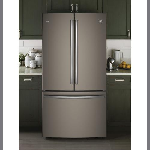 GE Profile 23.1 cu.ft. French Door Refrigerator Slate PWE23KMKES