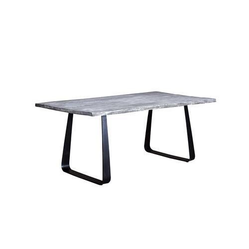 Crossover Gray Dining Tables with different bases, SB-AUT-64G