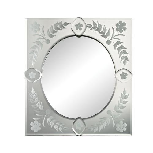 See Details - Small Sqaure Venetian Mirror