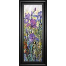 """Iris Field I"" By Tim Otoole Framed Print Wall Art"