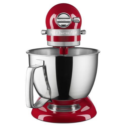 KitchenAid - Exclusive Artisan® Series Stand Mixer & Fresh Prep Attachment Set - Empire Red