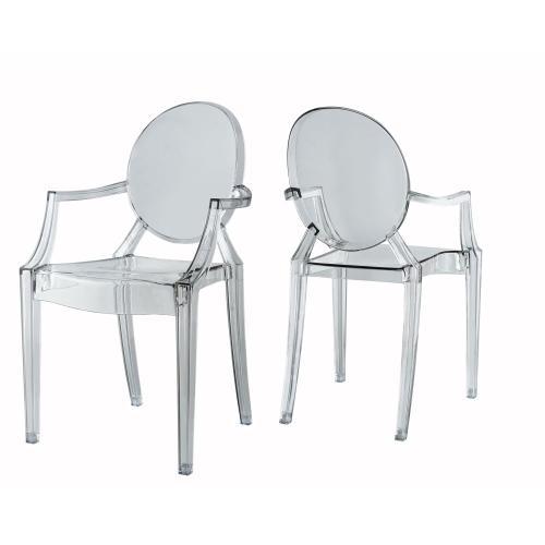 Trenton Clear Arm Chair