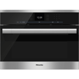 MieleDGC 6500-1 - Steam oven with full-fledged oven function and XL cavity combines two cooking techniques - steam and convection.