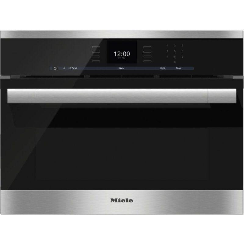 DGC 6500-1 - Steam oven with full-fledged oven function and XL cavity combines two cooking techniques - steam and convection.