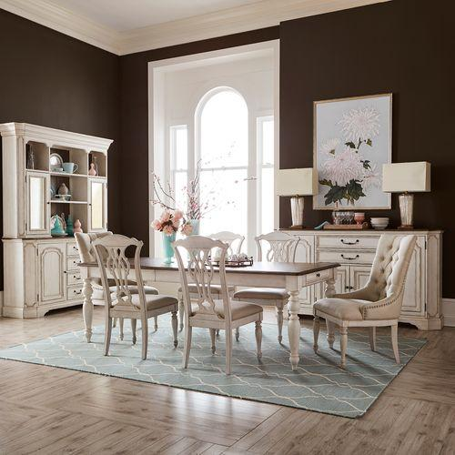 Liberty Furniture Industries - Opt 7 Piece Rectangular Table Set
