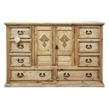 Mansion Dresser W/ Cross