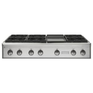 "MonogramMonogram 48"" Professional Gas Rangetop with 6 Burners and Griddle (Natural Gas)"
