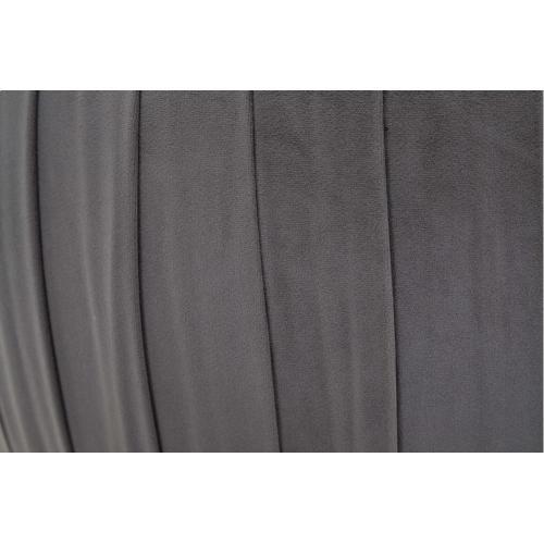 Tov Furniture - Fleur Grey Velvet Storage Ottoman