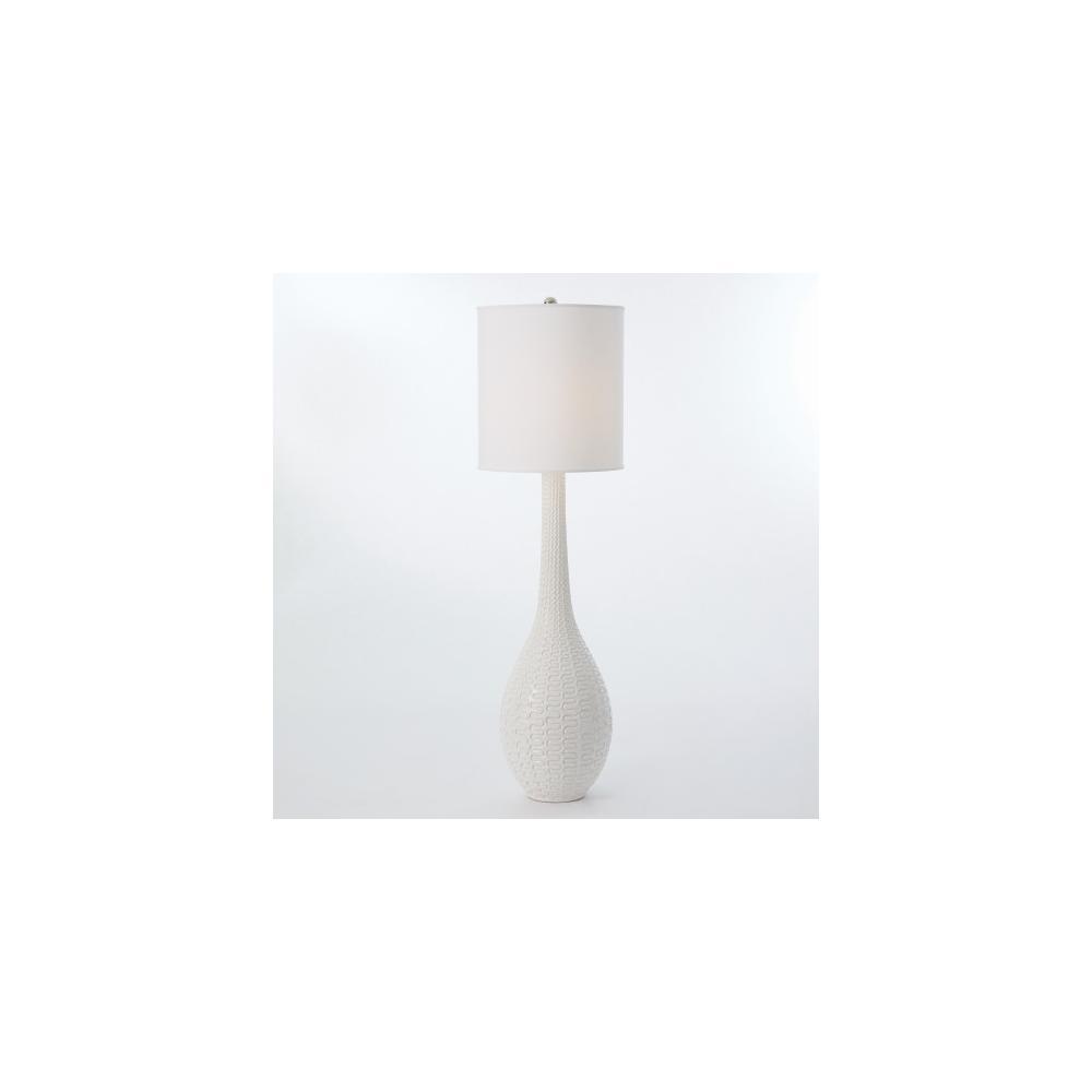 Rinaldi Floor Lamp-Matte White