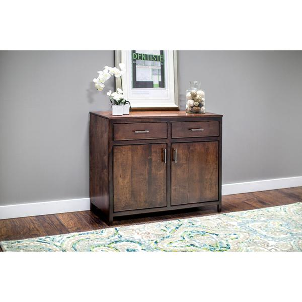 Sheffield 2-Door Sideboard, Soft Maple #28 Bourbon w/Level B Aging