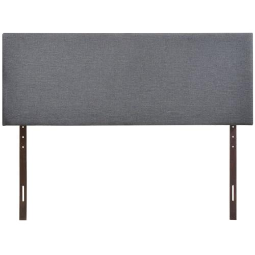 Region Queen Upholstered Headboard in Smoke