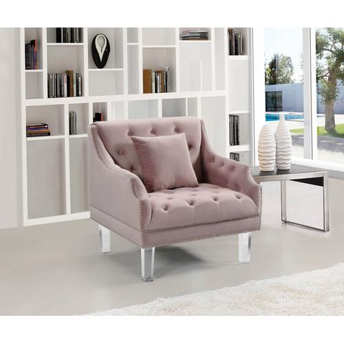"Roxy Velvet Chair - 33.5"" W x 32"" D x 35"" H"