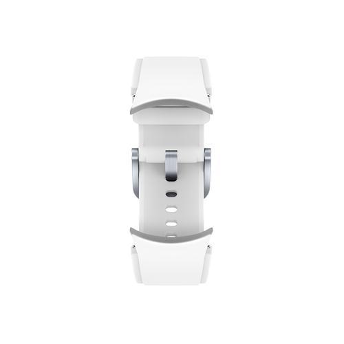 Samsung - Galaxy Watch4, Galaxy Watch4 Classic Ridge-Sport Band, S/M, White