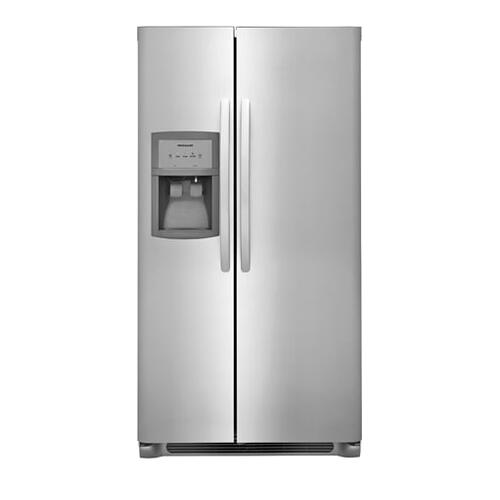 Frigidaire - Frigidaire 22.0 Cu. Ft. Side-by-Side Refrigerator
