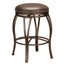"""See Details - Backless Swivel Counter Stool (24"""")"""