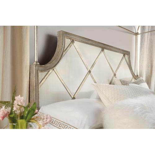 Sanctuary Diamont Canopy King Panel Bed