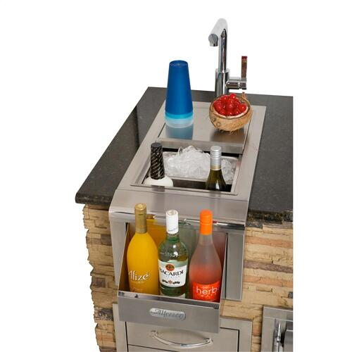 "14""Built In Bartender W/ Sink"