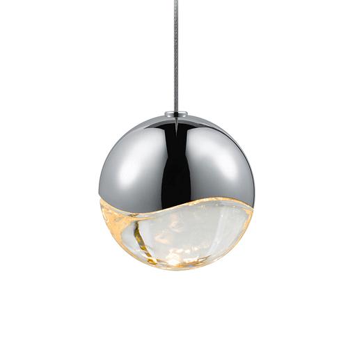 Grapes® Medium LED Pendant w/Round Canopy