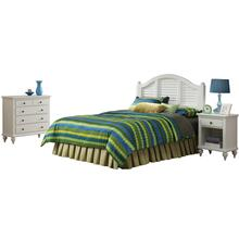 Penelope King Headboard, Nightstand and Chest