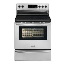 Frigidaire Gallery 30'' Freestanding Electric Range   (This is a Stock Photo, actual unit (s) appearance may contain cosmetic blemishes.  Please call store if you would like actual pictures)  MANUFACTURER WARRANTY NOT VALID ISI 37480 B
