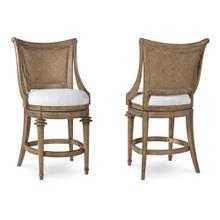 Pavilion Woven Back High Dining Chair