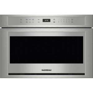 Gaggenau400 Series Drawer Microwave 24'' Stainless Steel