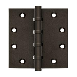 "4 1/2"" x 41/2"" Square Hinges, Ball Bearings Product Image"