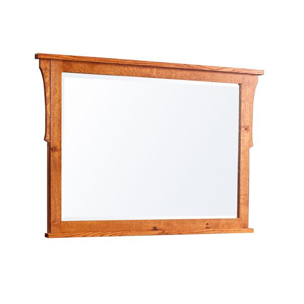 "San Miguel Mule Chest Mirror, 46 1/2""w"