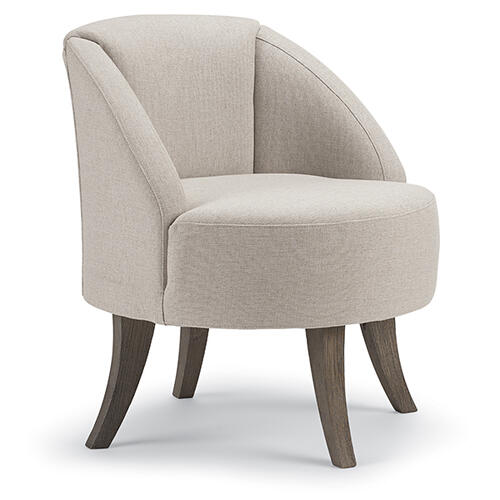 HYLANT Swivel Barrel Chair